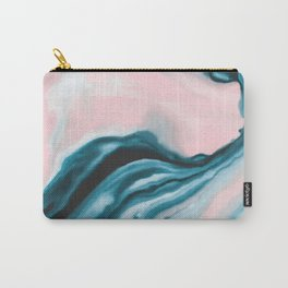Pink and blue tide Carry-All Pouch