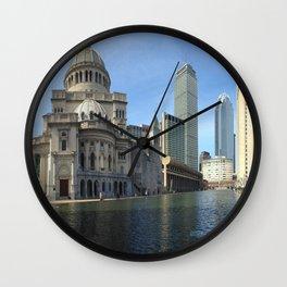 Christian Science Reflecting Pool Wall Clock