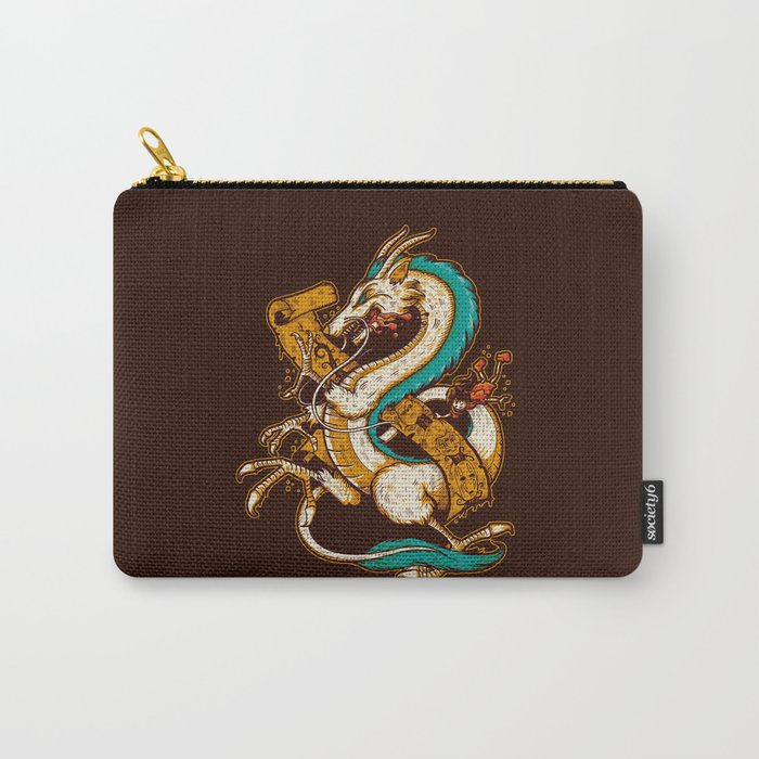 SPIRITED CREST Carry-All Pouch