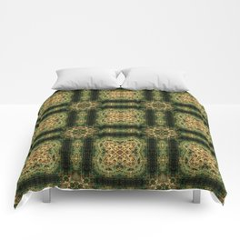 Indian Inspired Earthtone Tilework Comforters