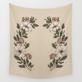 Floral Laurel Wall Tapestry