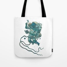 Peace In Space  Tote Bag