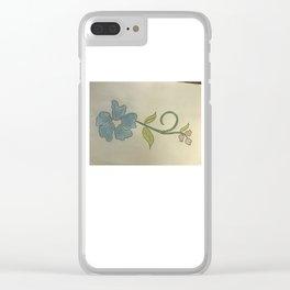 Bloemetjes voor vallentyn Clear iPhone Case