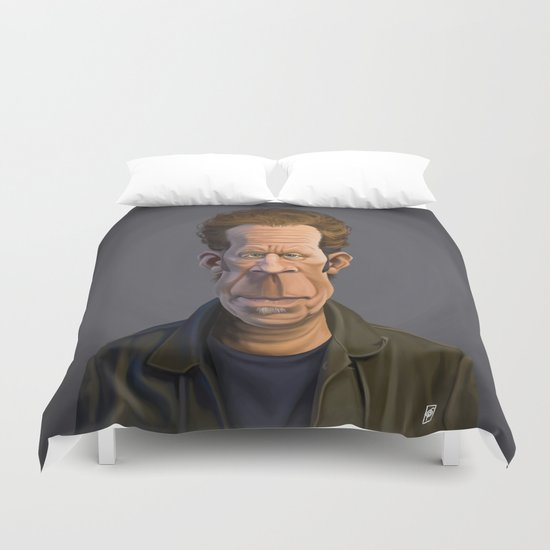Celebrity Sunday ~ Tom Waits Duvet Cover