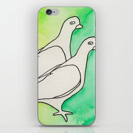 Two Birds no1 iPhone Skin