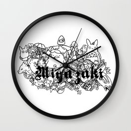 Tribute to the Ink  Wall Clock
