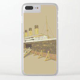 Foretold Tragedy Clear iPhone Case