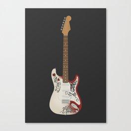 Monterey Stratocaster Canvas Print