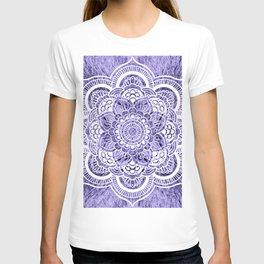 Mandala Lavender Colorburst T-shirt