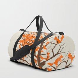 Blazing Fox Tree Duffle Bag