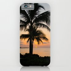 Palm Trees at Sunrise Slim Case iPhone 6s