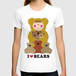 I♥BEARS T-shirt