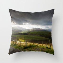 Keswick via Skiddaw Throw Pillow