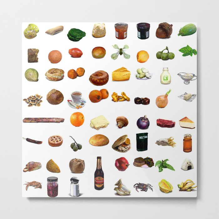 Select Oobites From Year Two, Small Metal Print