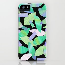 Leaf Litter (dark) iPhone Case