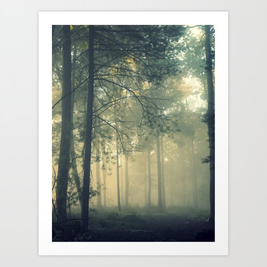 Start Wandering Art Print