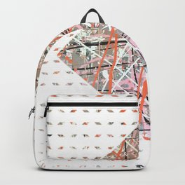 Flight of Color - diamond graphic Backpack