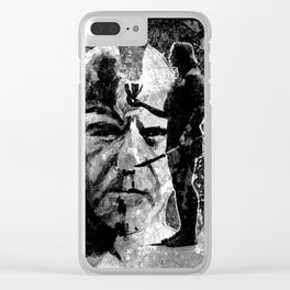 The ceremony - black Clear iPhone Case