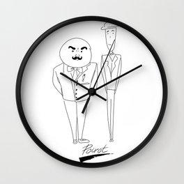 Poirot Wall Clock