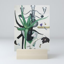 Healing Aloe Flora Spell Mini Art Print