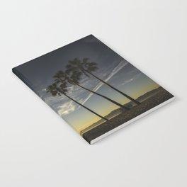 Venice Beach Sunset Notebook