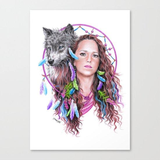 Heather Canvas Print