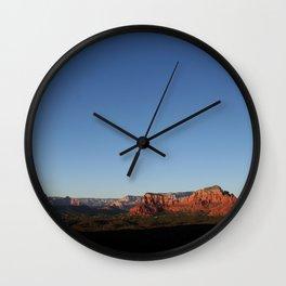 Photography Serenity in Sedona Wall Clock