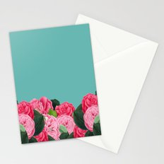Floral & Turquoise Stationery Cards