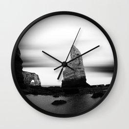 Etretat I Wall Clock