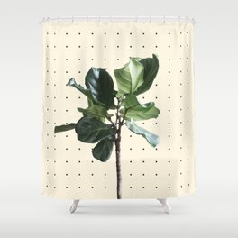 Home Ficus Shower Curtain