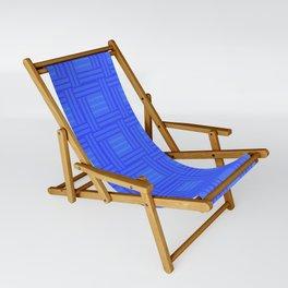 Elour Blue Tile Sling Chair