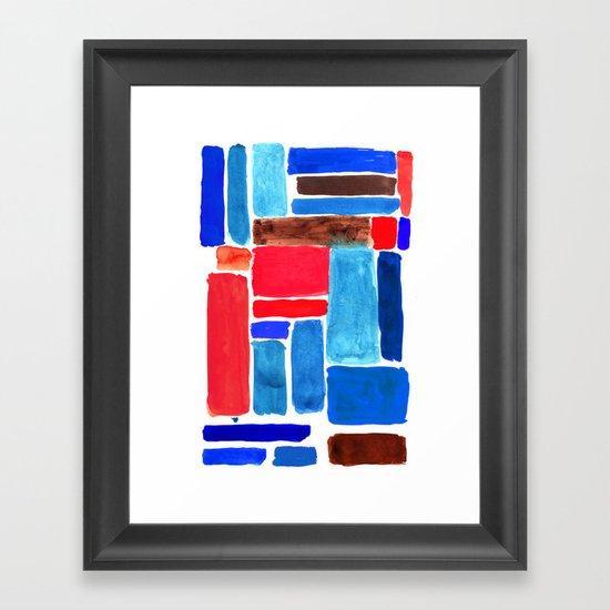 Pools Project Framed Art Print