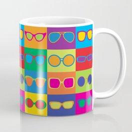 Pop Art Eyeglasses Coffee Mug