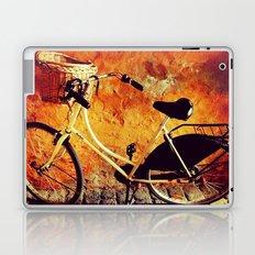 Yellow Cycle Laptop & iPad Skin