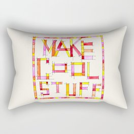 Make Cool Stuff Rectangular Pillow