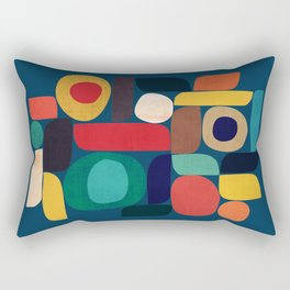 Miles and miles Rectangular Pillow