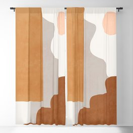 Abstract Shapes 34 Blackout Curtain