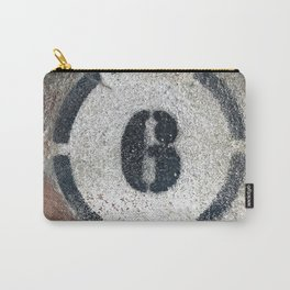 Six on Bricks Carry-All Pouch