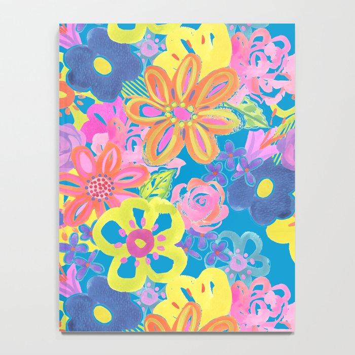 Zing Zest Floral Notebook