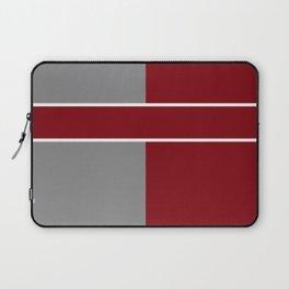 Team Color 6....gray,maroon Laptop Sleeve
