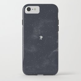 Gravity - Dark Blue iPhone Case