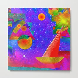 Voyage to the Stars Metal Print
