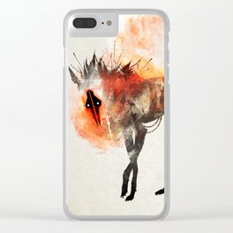 Spread the Fire Clear iPhone Case