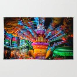 Cray Cray crazy fun at the carnival Rug