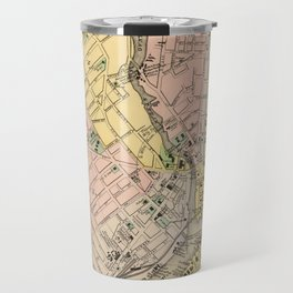 Vintage Map of Bangor ME (1894) Travel Mug