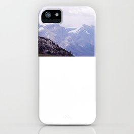 Purple and Pines iPhone Case