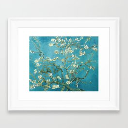 Almond Blossoms by Vincent van Gogh Framed Art Print