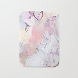 Rose Colored Puzzles Bath Mat