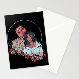 Uranus & Neptune - Sailor Moon Stationery Cards