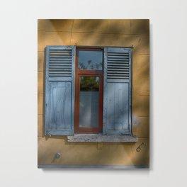 belgian window blinds Metal Print